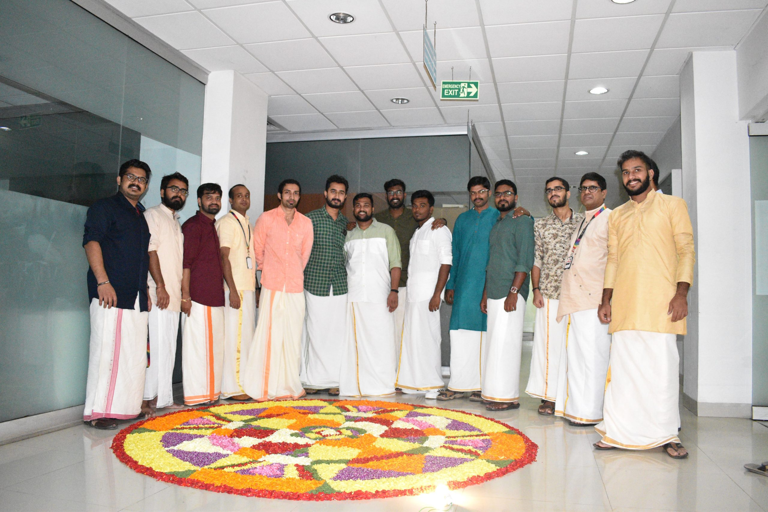 onam celebration at avench